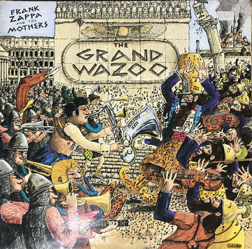 Cover Frank Zappa And The Mothers - The Grand Wazoo (LP, Album, Gat) Schallplatten Ankauf