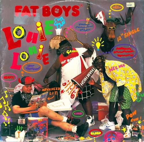 Cover Fat Boys ®* - Louie Louie (12, Single) Schallplatten Ankauf