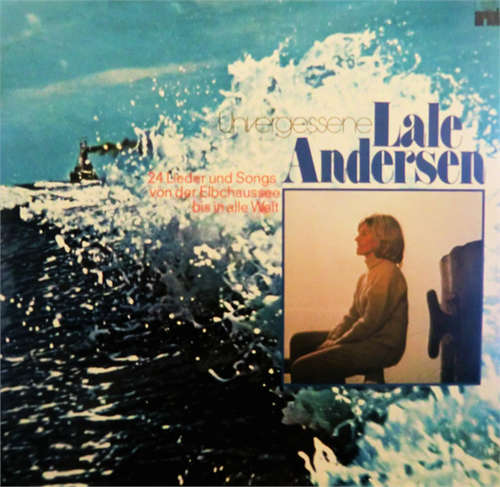 Cover Lale Andersen - Unvergessene Lale Andersen (2xLP, Comp) Schallplatten Ankauf