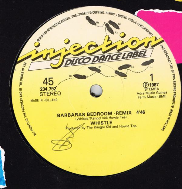 Cover Whistle - Barbara's Bedroom (12) Schallplatten Ankauf