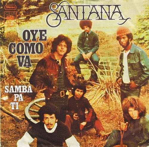Cover Santana - Oye Como Va (7, Single) Schallplatten Ankauf