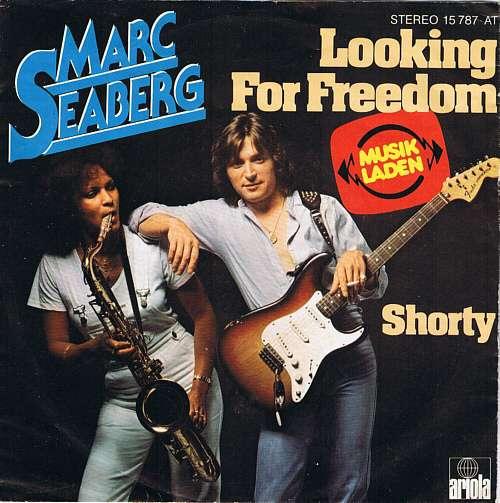 Cover zu Marc Seaberg - Looking For Freedom (7, Single) Schallplatten Ankauf