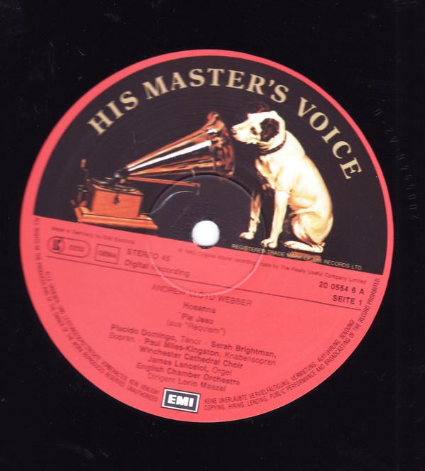 Bild Sarah Brightman, Paul Miles-Kingston, Placido Domingo -  Pie Jesu  (12) Schallplatten Ankauf