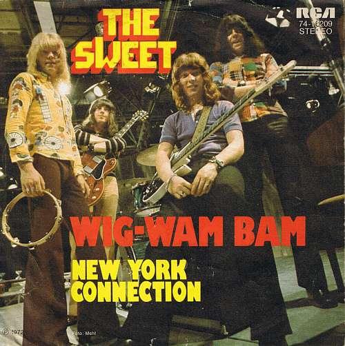 Bild The Sweet - Wig-Wam Bam (7, Single) Schallplatten Ankauf