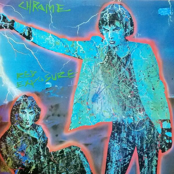 Cover zu Chrome (8) - Red Exposure (LP, Album) Schallplatten Ankauf