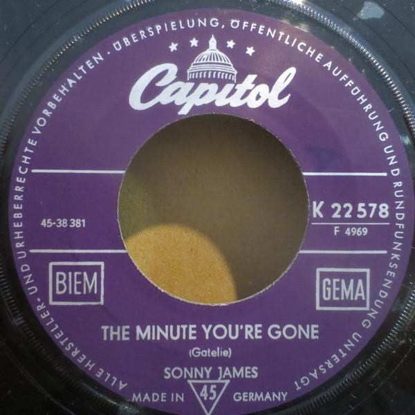 Bild Sonny James - The Minute You're Gone / Gold And Silver (7, Single) Schallplatten Ankauf