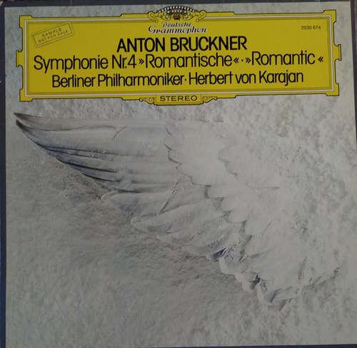 Cover zu Anton Bruckner, Herbert Von Karajan, Berliner Philharmoniker - Symphonie Nr.4 Romantische  (LP, Sam) Schallplatten Ankauf