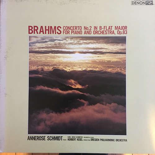 Bild Brahms*, Annerose Schmidt, Karl-Heinz Schröter, Herbert Kegel, Dresden Philhamonic Orchestra* - Concerto No.2 In B-Flat Major (LP, Album) Schallplatten Ankauf
