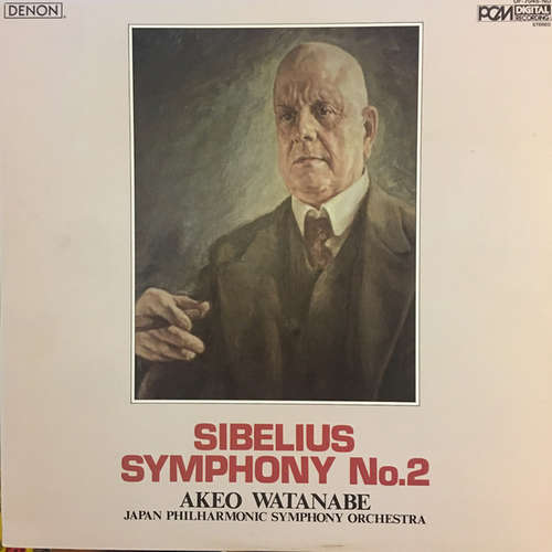 Cover zu Sibelius*, Akeo Watanabe, Japan Philharmonic Symphony Orchestra - Symphony No.2 (LP, Album) Schallplatten Ankauf