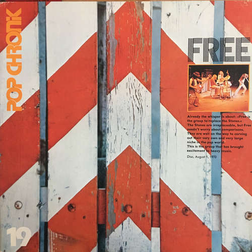 Bild Free - Pop Chronik 19 (2xLP, Comp, RE) Schallplatten Ankauf