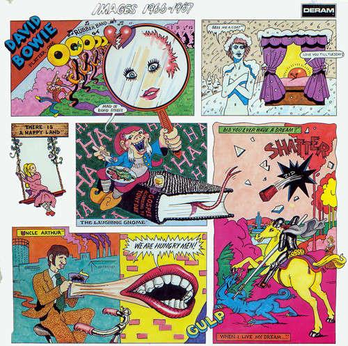 Cover zu David Bowie - Images 1966 - 1967 (2xLP, Comp) Schallplatten Ankauf