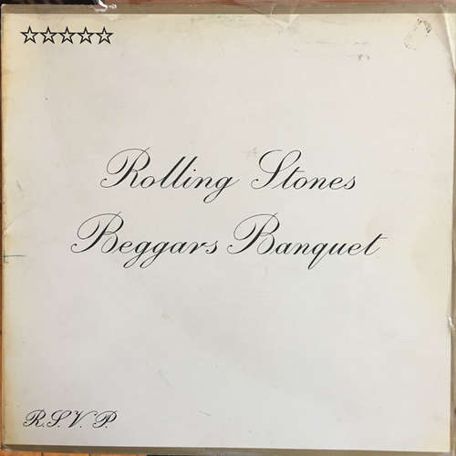 Cover The Rolling Stones - Beggars Banquet (LP, Album, RE, Gat) Schallplatten Ankauf