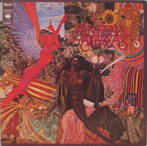 Cover zu Santana - Abraxas (LP, Album, Gat) Schallplatten Ankauf