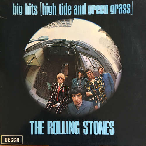 Cover The Rolling Stones - Big Hits (High Tide And Green Grass) (LP, Comp, RE, Gat) Schallplatten Ankauf