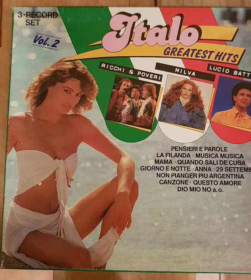 Cover zu Various - Italo Greatest Hits Vol. 2 (Box) Schallplatten Ankauf