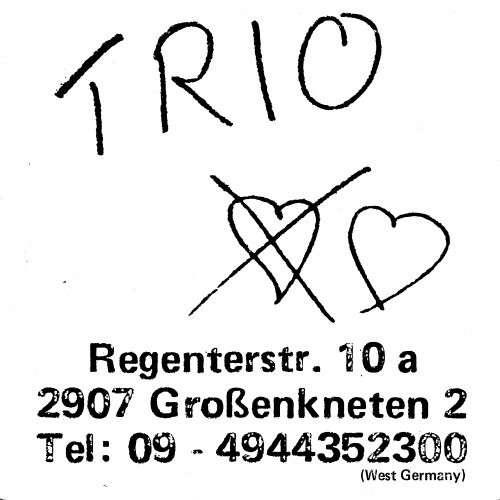 Cover Trio - Trio (LP, Album) Schallplatten Ankauf