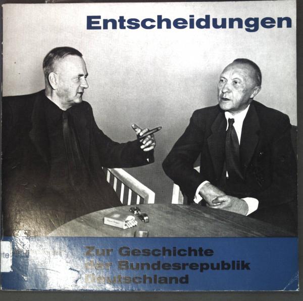 Cover No Artist - Entscheidungen Zur Geschichte Der Bundesrepublik Deutschland (8) Schallplatten Ankauf