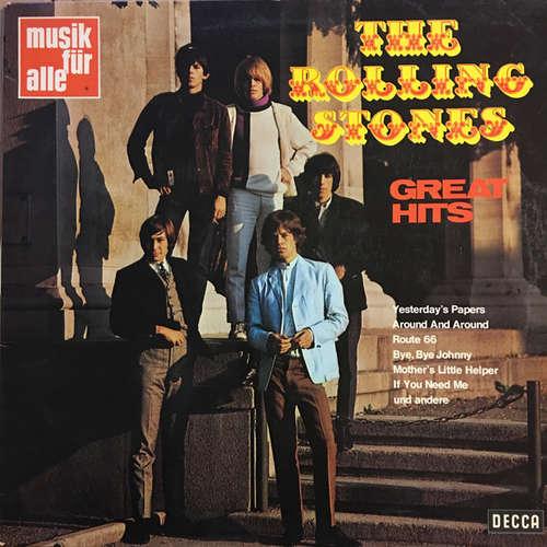 Cover zu The Rolling Stones - Great Hits (LP, Comp) Schallplatten Ankauf