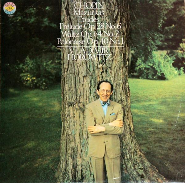 Bild Chopin* - Vladimir Horowitz - Mazurkas, Etudes, Prelude Op. 28 No.6, Waltz Op.64 No. 2, Polonaise Op.40 No.1 (LP, Album) Schallplatten Ankauf