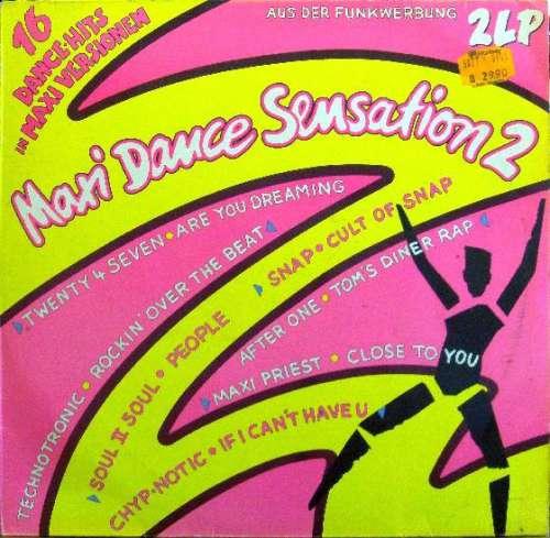 Cover Various - Maxi Dance Sensation 2 (2xLP, Comp) Schallplatten Ankauf