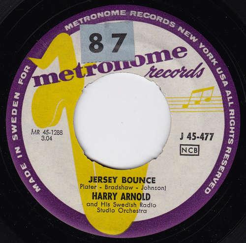 Cover Harry Arnold & His Swedish Radio Studio Orchestra - Jersey Bounce (7, Single) Schallplatten Ankauf
