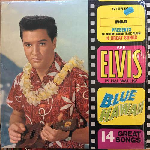Cover Elvis Presley - Blue Hawaii (LP, Album, RE) Schallplatten Ankauf