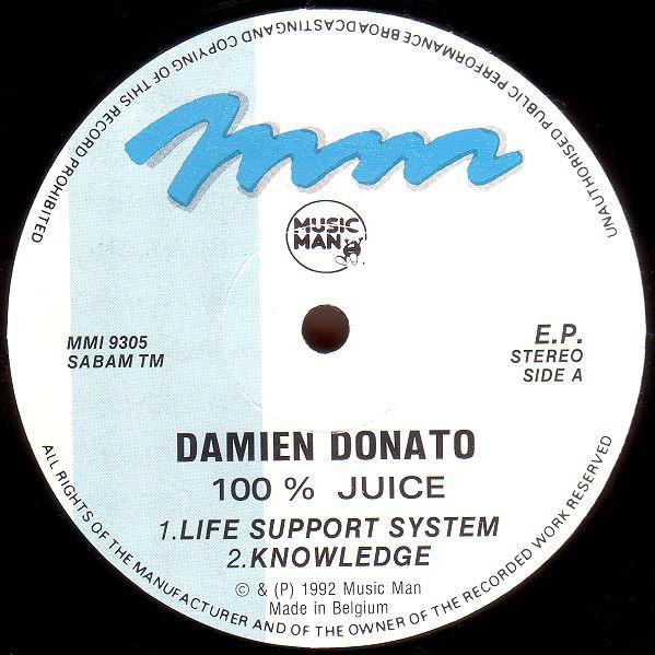 Cover Vitamin HMC* - 100% Juice (12, EP) Schallplatten Ankauf