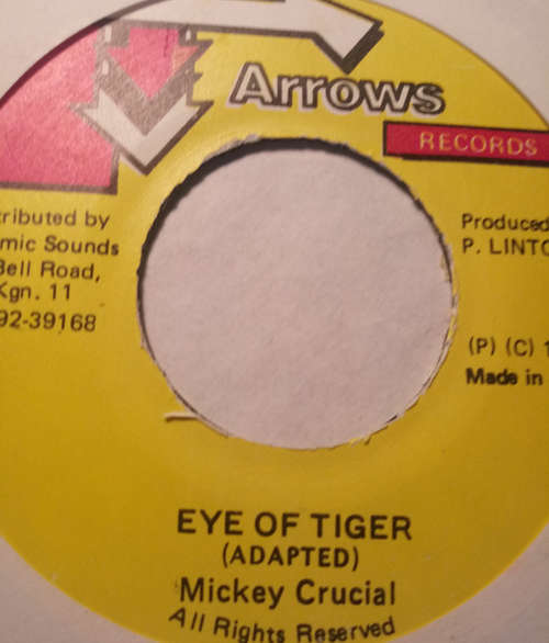 Cover zu Mikey Crusal* - Eye Of Tiger (7) Schallplatten Ankauf