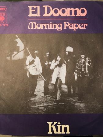 Cover Kin (17) - El Doomo / Morning Paper (7, Single) Schallplatten Ankauf