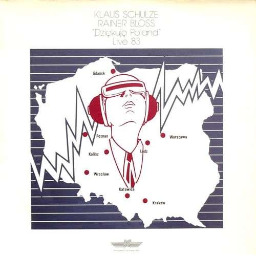 Cover Klaus Schulze, Rainer Bloss - Dziękuję Poland (Live '83) (2xLP, Album) Schallplatten Ankauf
