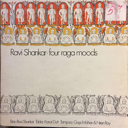 Cover Ravi Shankar - Four Raga Moods (2xLP, Album, Comp) Schallplatten Ankauf