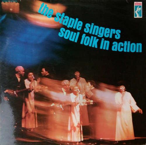 Bild The Staple Singers - Soul Folk In Action (LP, Album) Schallplatten Ankauf
