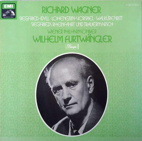 Cover Richard Wagner – Wiener Philharmoniker, Wilhelm Furtwängler - Siegfried-Idyll ·Lohengrin-Vorspiel ·Walkürenritt · Siegfrieds Rheinfahrt Und Trauermarsch (LP, Mono) Schallplatten Ankauf