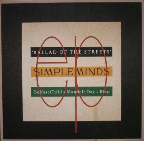 Bild Simple Minds - Ballad Of The Streets (12, EP) Schallplatten Ankauf
