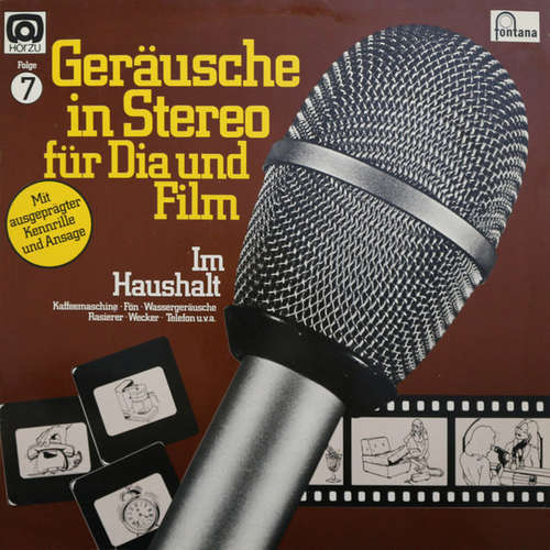 Bild No Artist - Geräusche In Stereo Für Dia Und Film - Folge 7 - Im Haushalt (LP, Album) Schallplatten Ankauf