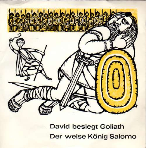 Cover Johannes Michael Hollenbach S. J. - David Besiegt Goliath / Der Weise König Salomo (7) Schallplatten Ankauf