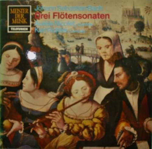 Bild Johann Sebastian Bach - Drei Flötensonaten (LP) Schallplatten Ankauf