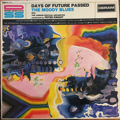 Cover The Moody Blues With The London Festival Orchestra Conducted By Peter Knight (5) - Days Of Future Passed (LP, Album) Schallplatten Ankauf