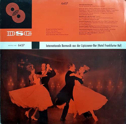 Cover Das Walter-Pons-Trio* - Internationale Barmusik Aus Der Lippizaner-Bar (Hotel Frankfurter Hof) (LP, Mono, Club) Schallplatten Ankauf