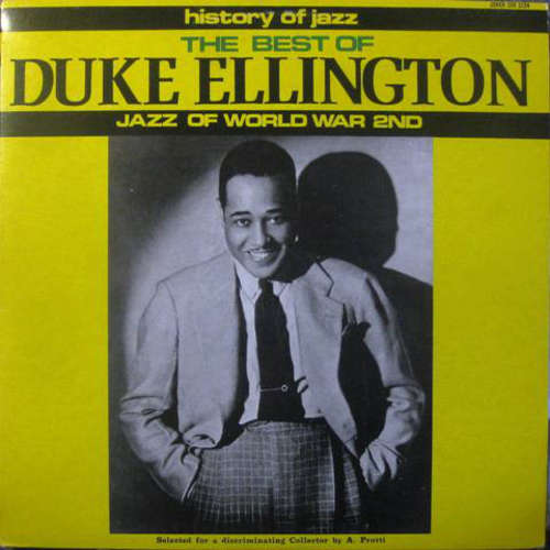 Cover Duke Ellington & His Orchestra* - The Best Of Duke Ellington - Jazz Of World War 2nd (LP, Comp, Mono) Schallplatten Ankauf