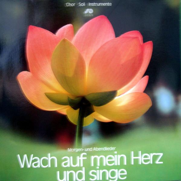 Cover zu S+G Studiochor* - Wach Auf, Mein Herz, Und Singe: Morgen- Und Abendlieder (LP, Album) Schallplatten Ankauf