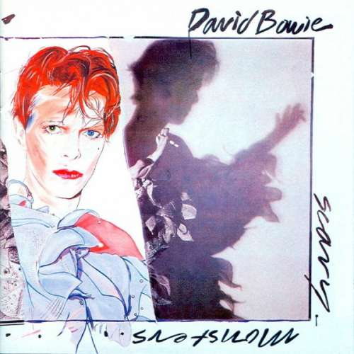 Cover David Bowie - Scary Monsters (LP, Album) Schallplatten Ankauf