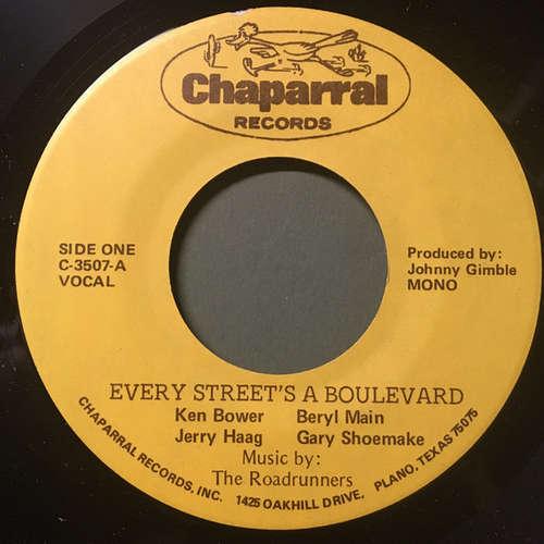 Cover Ken Bower, Beryl Main, Jerry Haag, Gary Shoemake, The Roadrunners (4) - Every Street's A Boulevard (7) Schallplatten Ankauf