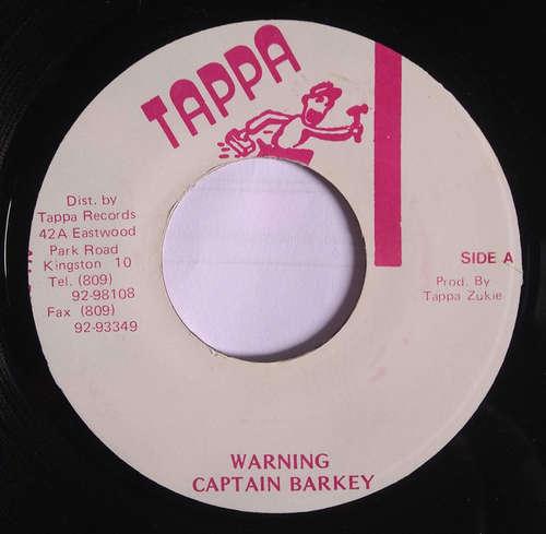 Cover Captain Barkey - Warning (7) Schallplatten Ankauf