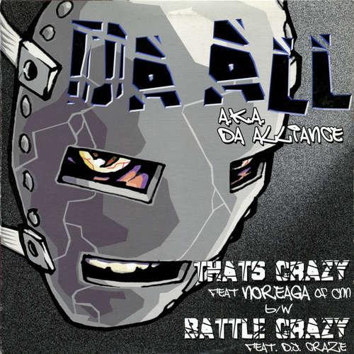 Cover zu Da All (a.k.a. Da Alliance)* - That's Crazy / Battle Crazy (12) Schallplatten Ankauf