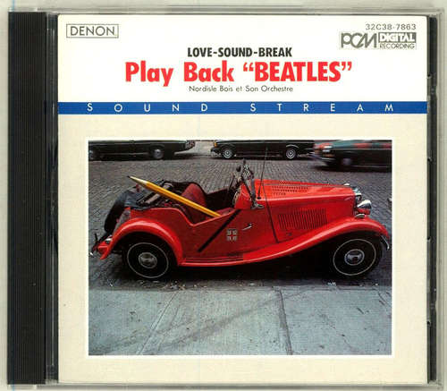 Cover Nordisle Bois Et Son Orchestre* - Play Back Beatles  (CD, Album) Schallplatten Ankauf