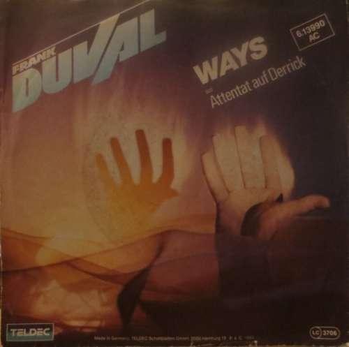 Cover Frank Duval - Ways (7, Single) Schallplatten Ankauf