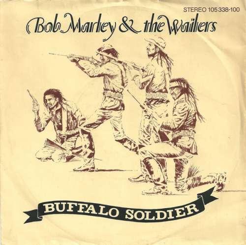 Cover Bob Marley & The Wailers - Buffalo Soldier (7, Single) Schallplatten Ankauf