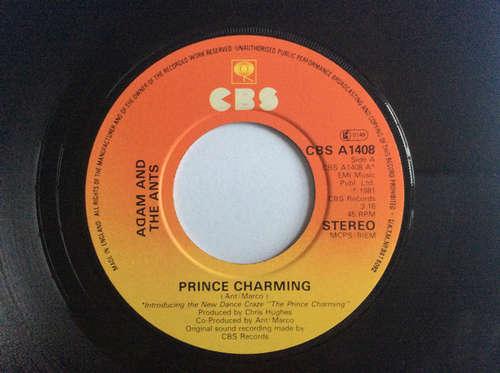 Cover Adam And The Ants - Prince Charming (7, Single, Jukebox) Schallplatten Ankauf