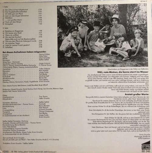 Bild Erwin Grosche - Badetag am Baggersee  (LP, Album) Schallplatten Ankauf